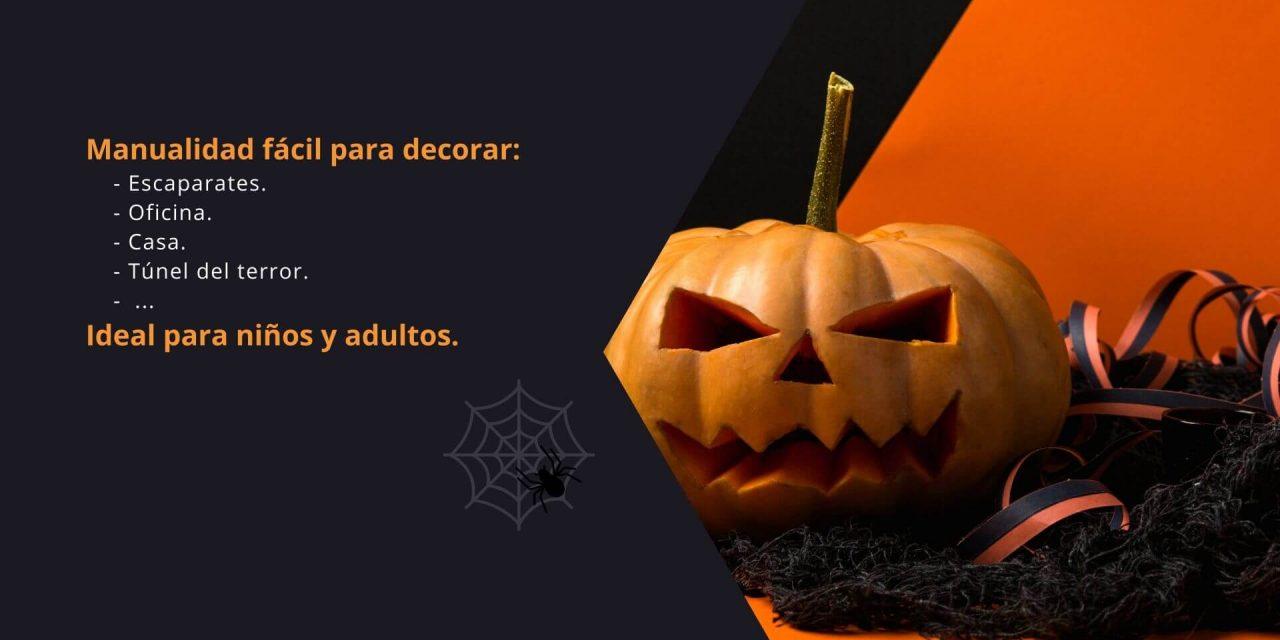 ¿Cómo hacer una telaraña para este Halloween fácil para decorar?