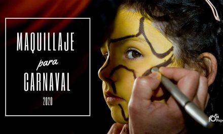 Maquillaje carnaval 2020