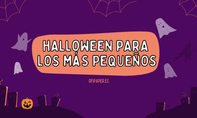 Máscaras de Halloween para los más pequeños